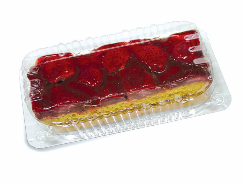 Torta Fragole Trancio 250g